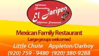 mexican restaurants appleton, mexican food appleton, green bay mexican food